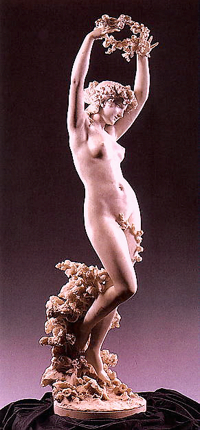 "Barzaghi Francesco, The Goddess Of Flowers"" 1898"